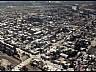 Vista aérea de la ciudad en Río Colorado